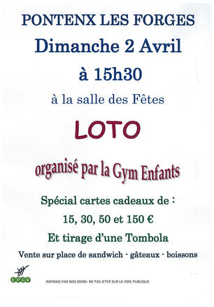 LOTO GYM ENFANTS