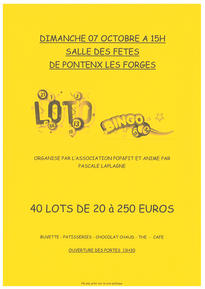 LOTO POP ET FIT